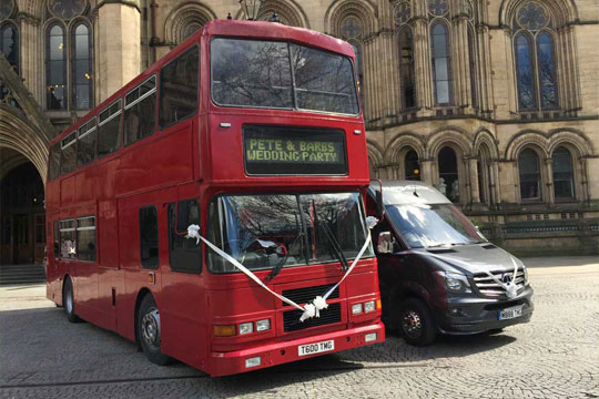 Double Decker Bus Hire Manchester